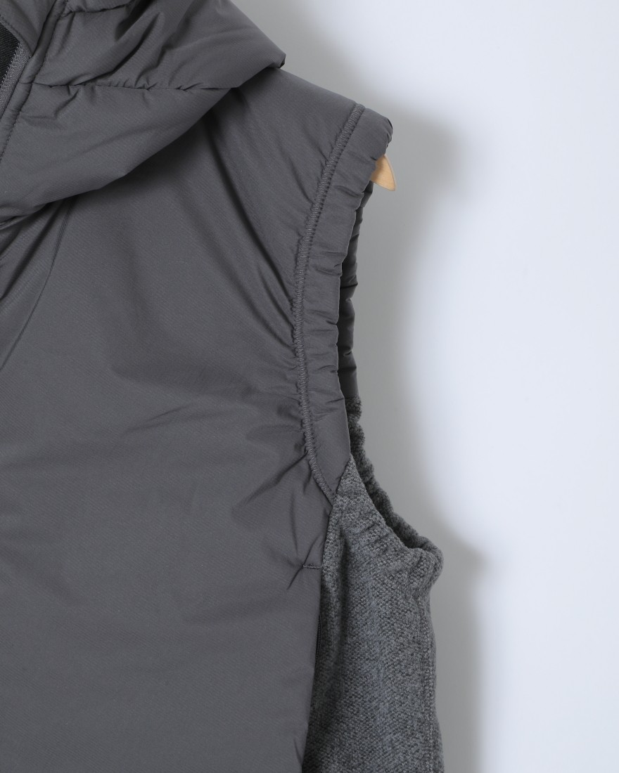 and wanderトップフリースベスト【top fleece vest】04l