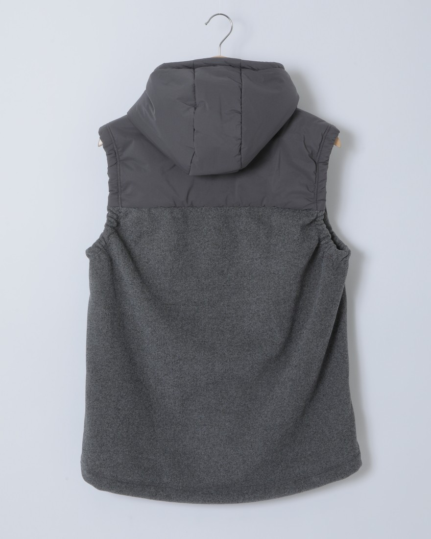 and wanderトップフリースベスト【top fleece vest】05l