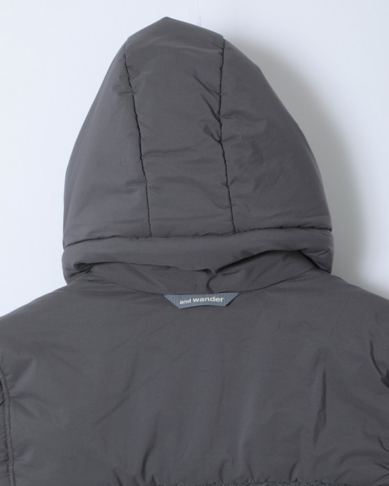 and wanderトップフリースベスト【top fleece vest】14l