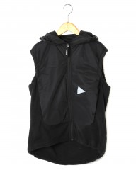 and wanderトップフリースベスト【top fleece vest】mb_c0