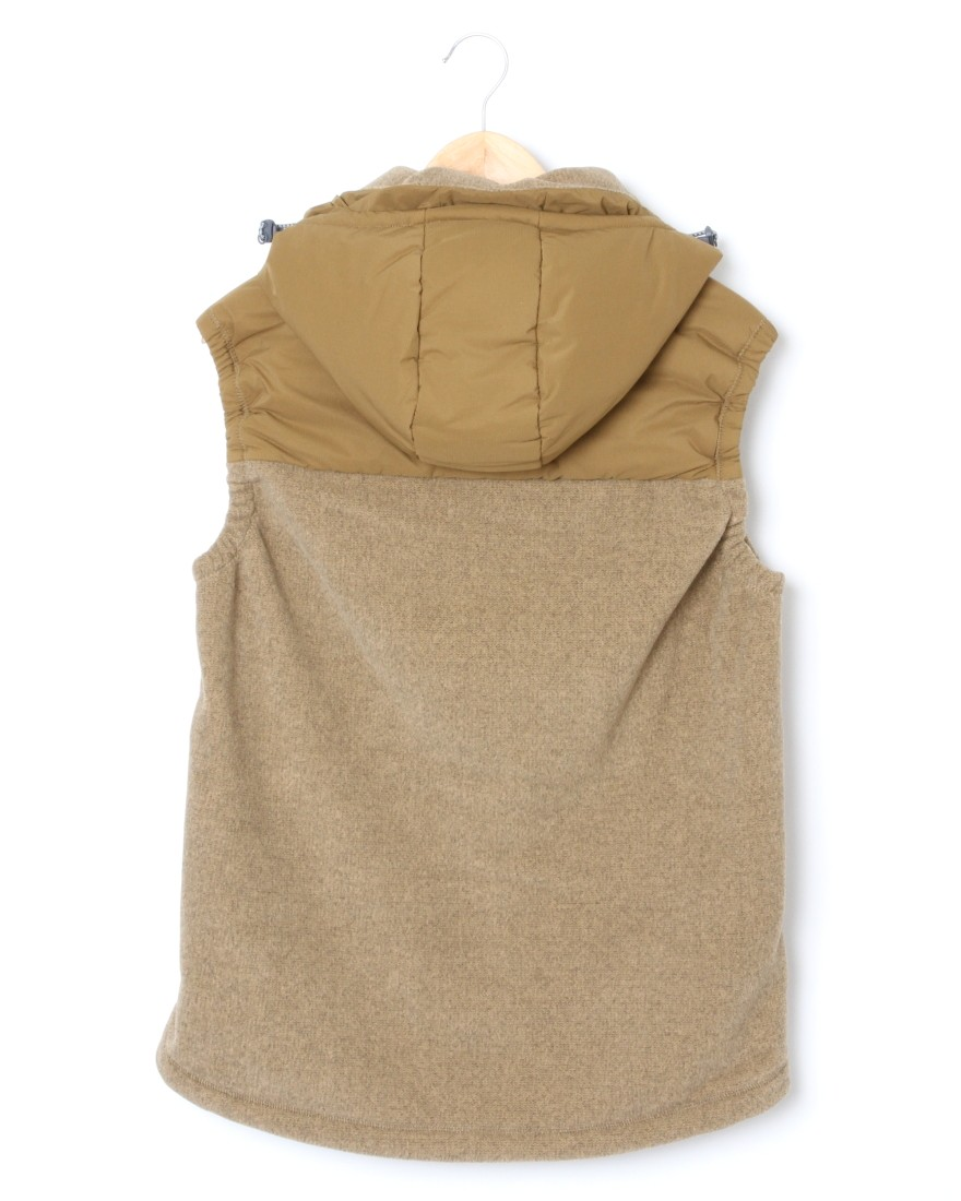 and wander中綿フリースベスト【top fleece vest】03l