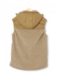 and wander中綿フリースベスト【top fleece vest】mb_03l