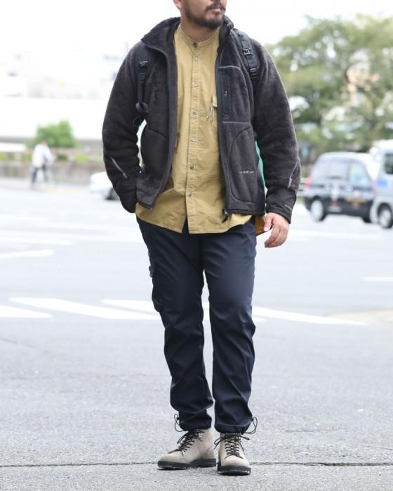 and wander(アンドワンダー) ハイロフトフリースジャケット【high loft fleece jacket】