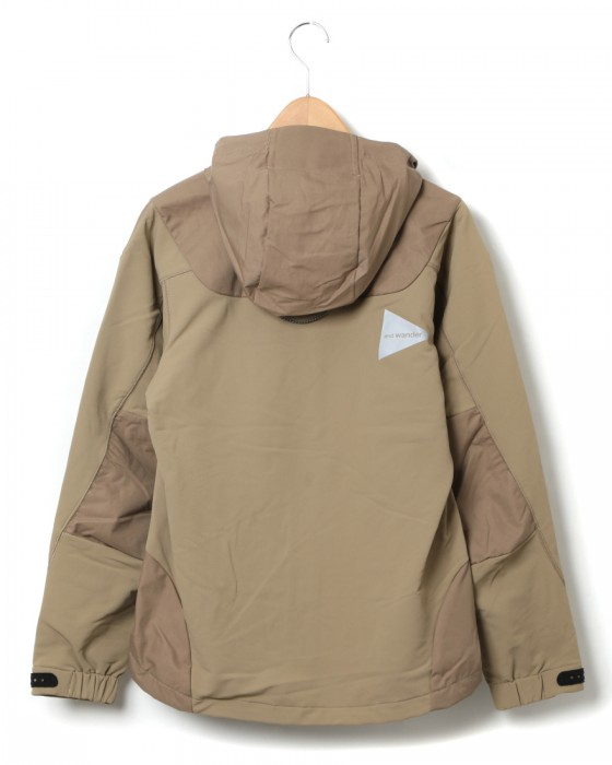 and wanderストレッチシェルジャケット【stretch shell jacket】01l