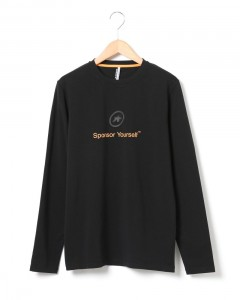 "ロゴTシャツ(長袖)【ASSOS T-Shirt ""sponsor Yourself "" LS】"