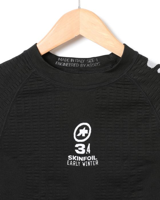 ASSOSベースレイヤー【ASSOS LS.SKINFOIL_EARLYWINTER_S7_new】02l