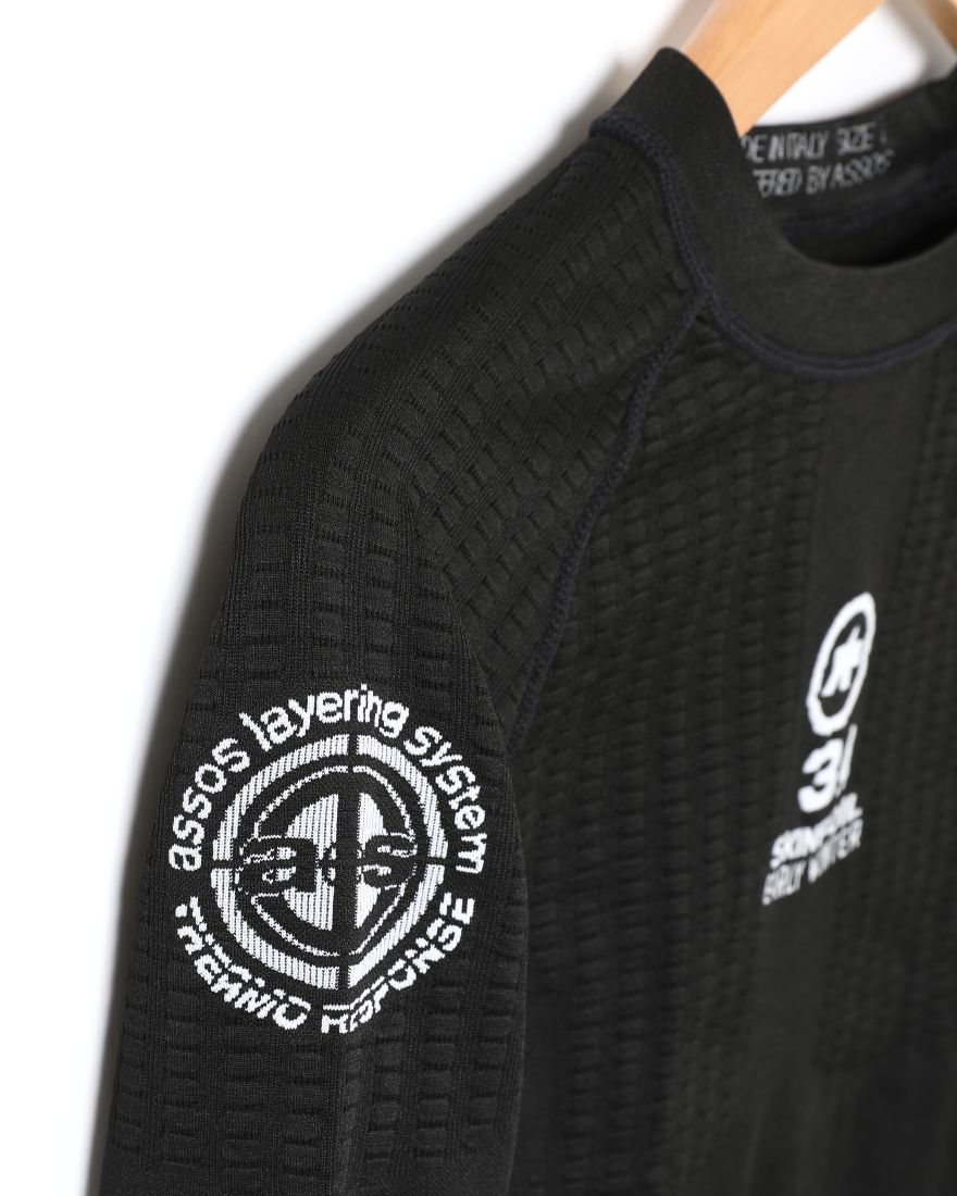 ASSOSベースレイヤー【ASSOS LS.SKINFOIL_EARLYWINTER_S7_new】04l