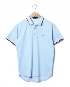 "FRED PERRY×narifuri 蓄光・鹿の子ポロシャツ""10th Edition"