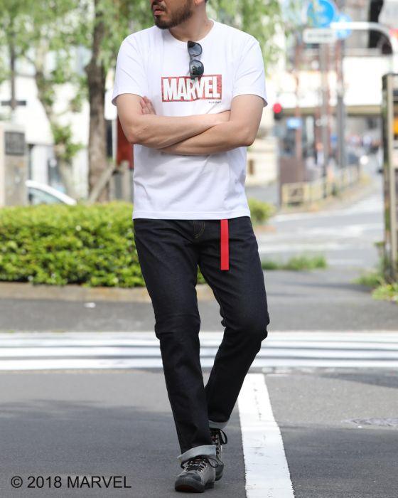 "narifuri(ナリフリ) ""narifuri×MARVEL""ヘビーコットンTシャツ【NFMV-06】"