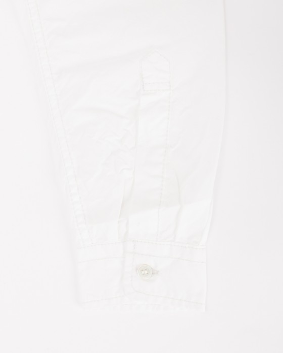 and wanderロングスリーブオーバーシャツ【CORDURA typewriter long sleeve over shirt 】11l