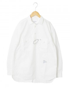 ロングスリーブオーバーシャツ【CORDURA typewriter long sleeve over shirt 】