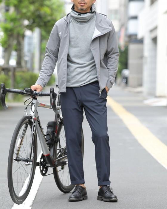 "alk phenix(アルクフェニックス) 撥水ストレッチフルジップパーカー【""TOKYO Wheels Exclusive"" slope parka/tech-urake】"