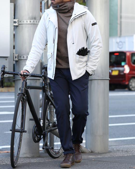 CCP(シーシーピー) ツウィード風ムートンジャージ―フルフェイスパーカー【TOKYO Wheels別注】