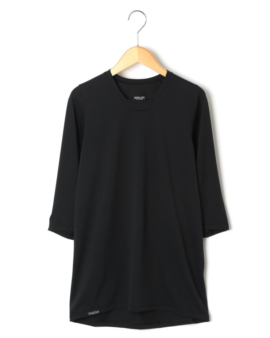 7MESHUVドライTee【Optic Shirt 3/4】c0
