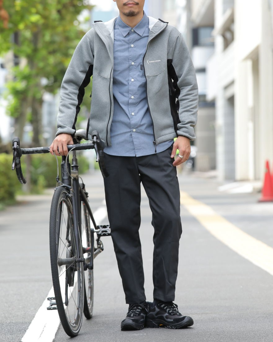 mellow peopleBicycle Research パーカー【TOKYO WHEELS別注】ma