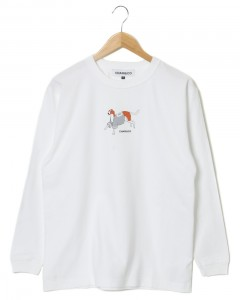 ロングTeeシャツ【WEARING BASEBALL SHIRTS DOG L/S TEE】
