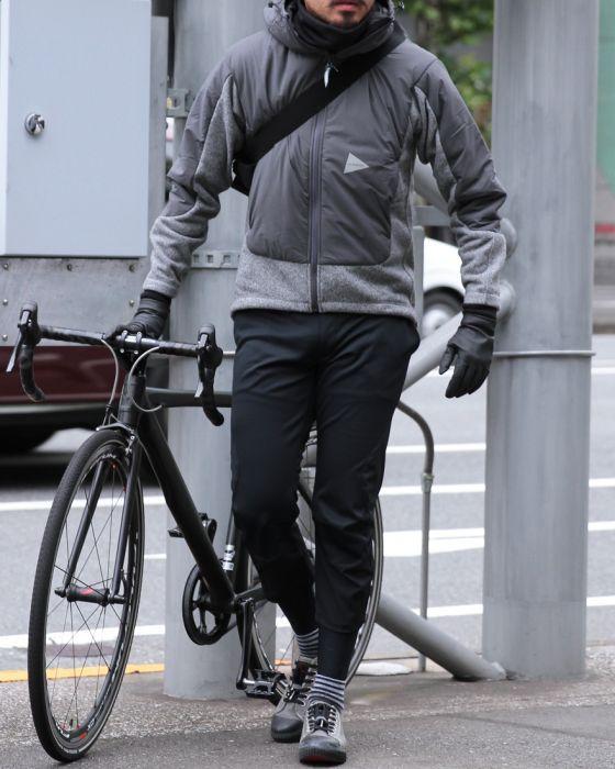 SHINICHIRO ARAKAWA(シンイチロウアラカワ) 8分丈エルゴノミックライドパンツ