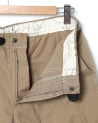 and wander速乾ストレッチリップストップショーツ【dry rip short pants】mb_06l