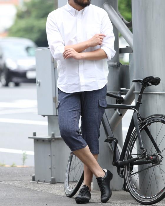 rin project(リンプロジェクト) デニムライク風流ショートパンツ【TOKYO Wheels別注】