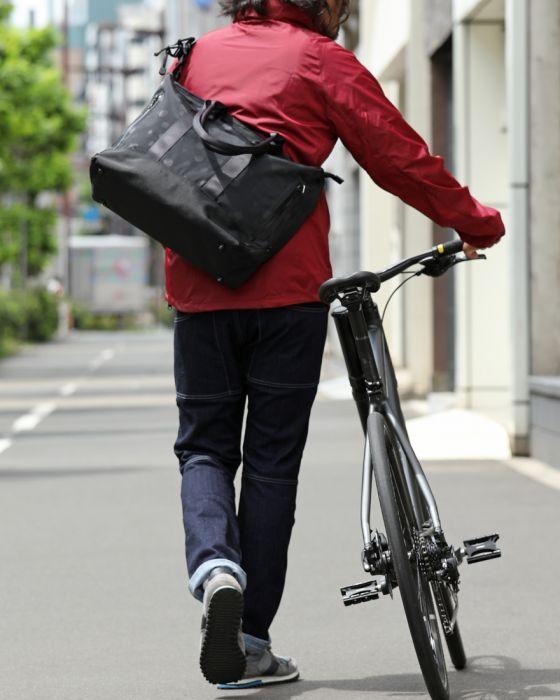 narifuri(ナリフリ) ジャガードドットトートバッグ