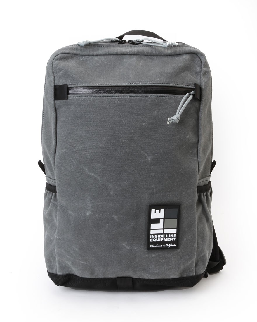 INSIDE LINE EQUIPMENT/ILEスクエアバックパック【Radius Mini/Waxd Canvas】01l