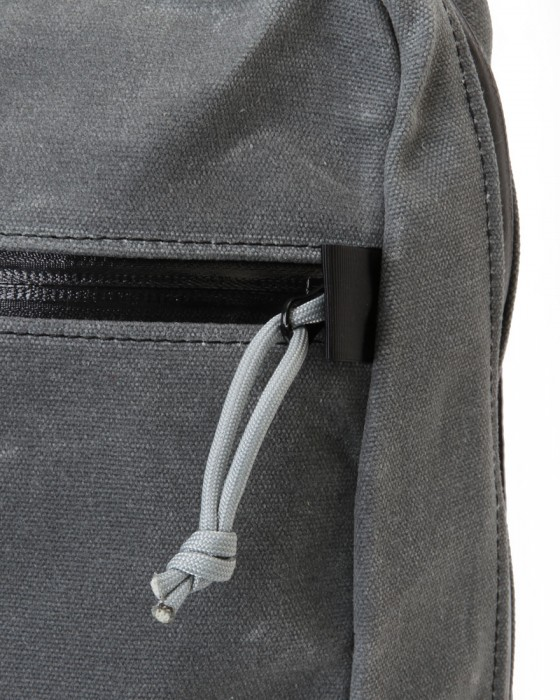 INSIDE LINE EQUIPMENT/ILEスクエアバックパック【Radius Mini/Waxd Canvas】11l