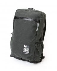 INSIDE LINE EQUIPMENT/ILEスクエアバックパック【Radius Mini/Waxd Canvas】mb_c1