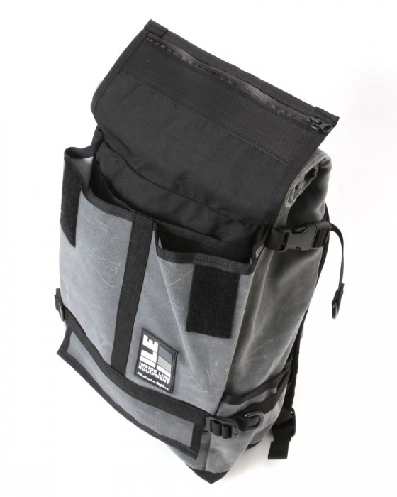 INSIDE LINE EQUIPMENT/ILEロールトップバックパック【Default Mini/Waxd Canvas】06l