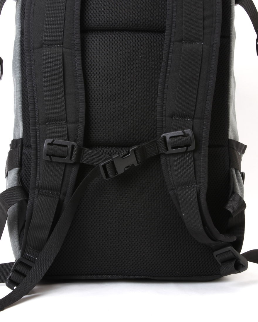 INSIDE LINE EQUIPMENT/ILEロールトップバックパック【Default Mini/Waxd Canvas】12l