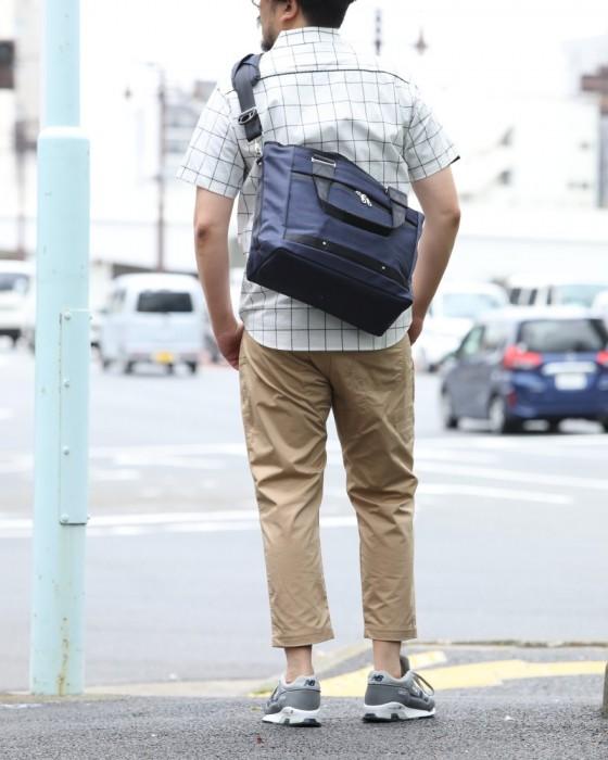 beruf(ベルーフ) スクウェア型トートバッグ【RUSH TOTO BAG NC】