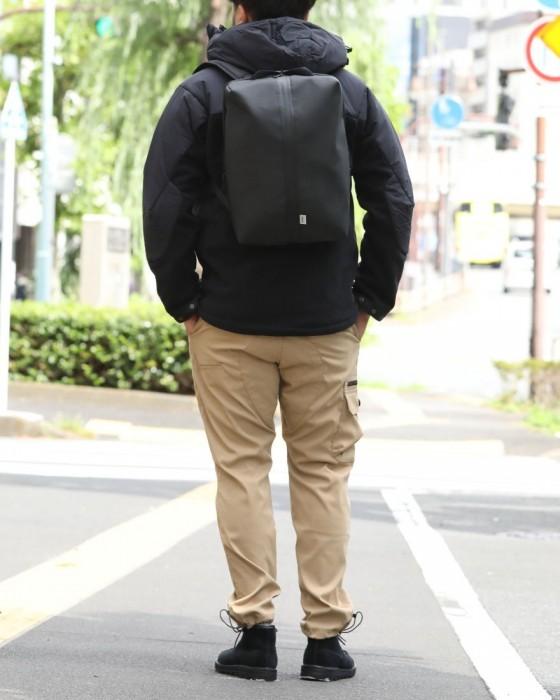 beruf(ベルーフ) ミニマルスクエアバックパック【GEARED LINE/GO OUT DURON/16L】
