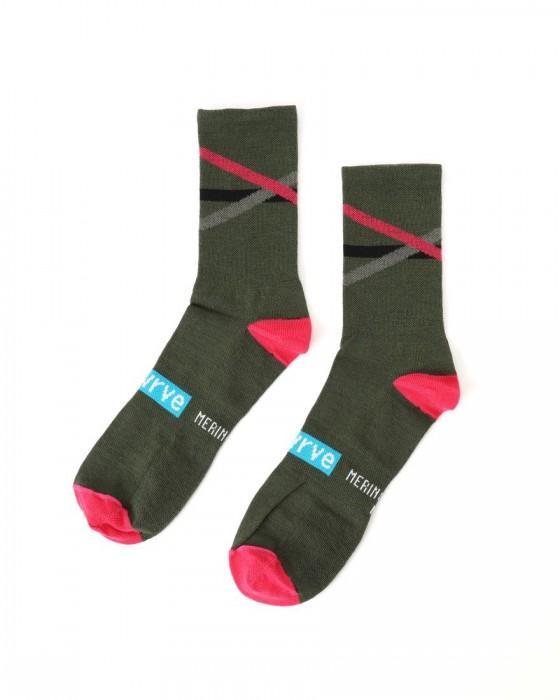 SWRVE(スワーブ) メリノウールソックス【merino wool socks】