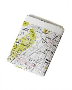 携帯地図【Crumpled City Map】