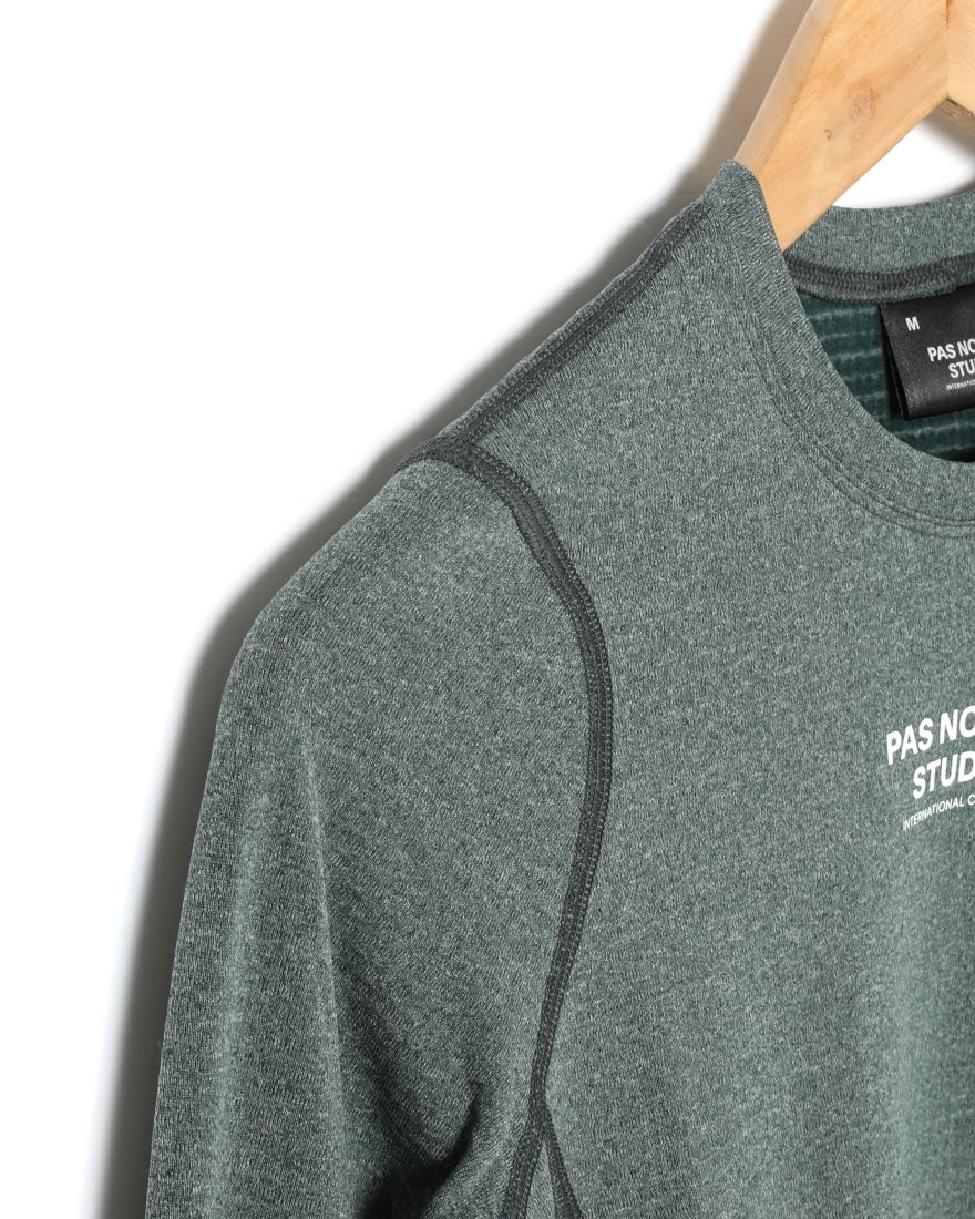 PAS NORMAL STUDIOSウィンターベースレイヤー【PNS Heavy Long Sleeve Base Layer】05l