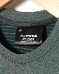 PAS NORMAL STUDIOSウィンターベースレイヤー【PNS Heavy Long Sleeve Base Layer】mb_08l