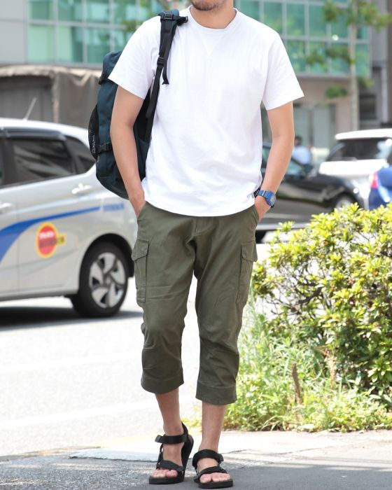 narifuri(ナリフリ) バイオ7分丈パンツ