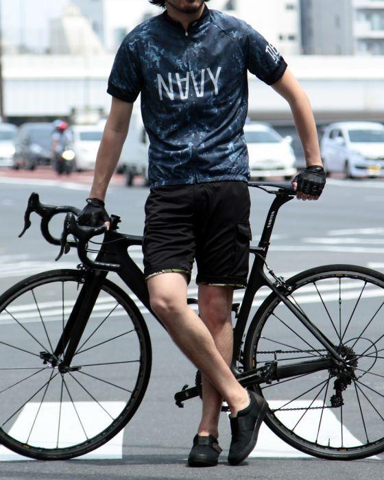 サイクルジャージレギュラーフィット/ナード