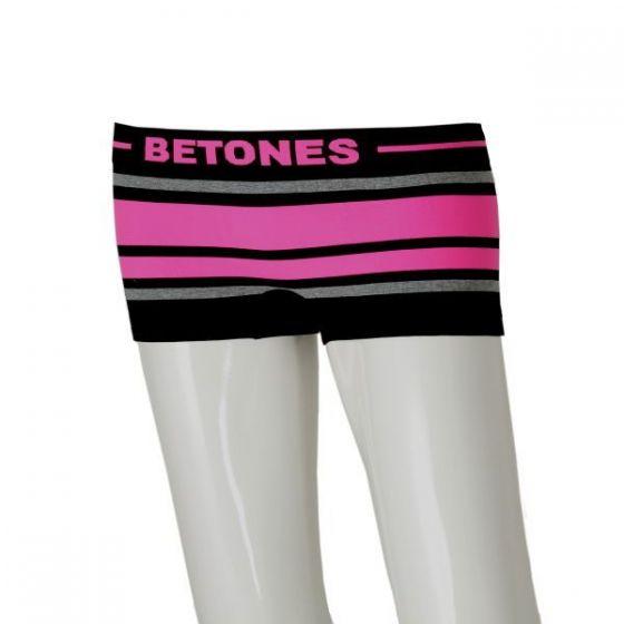 BETONES(ビトーンズ) ボクサーパンツ 【BREATH-BLACK-L レディース】