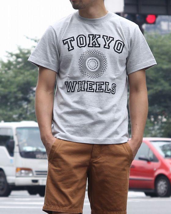 TOKYO Wheels(トウキョウウィールズ) TOKYO Wheels T-SHIRTS 【College】