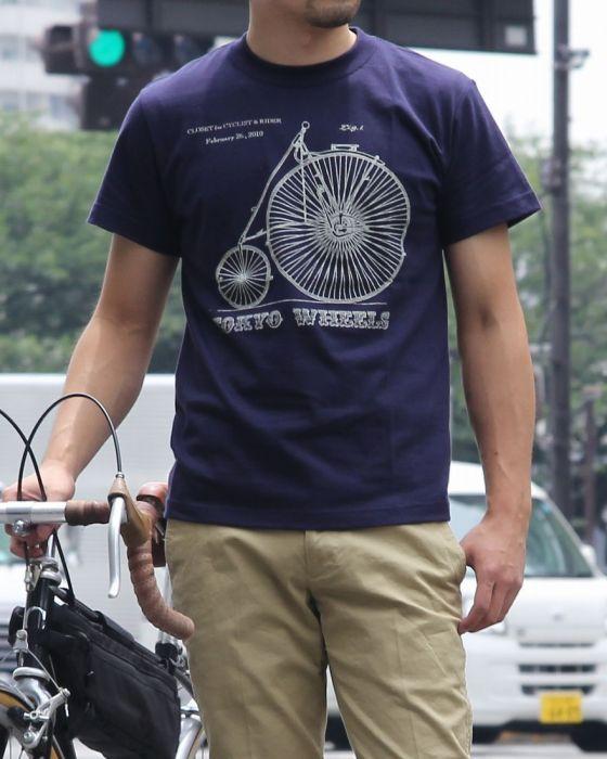 TOKYO Wheels T-SHIRTS 【Old Cycle】