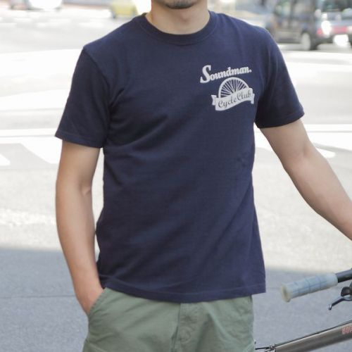 Soundman(サウンドマン) Soundman Cycle Club Tシャツ