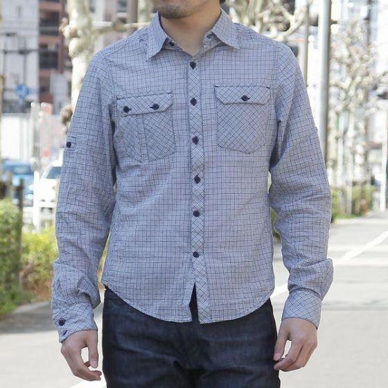 nau(ナウ) チェックロングスリーブシャツ【nau Checked Out Long Sleeve Shirt】