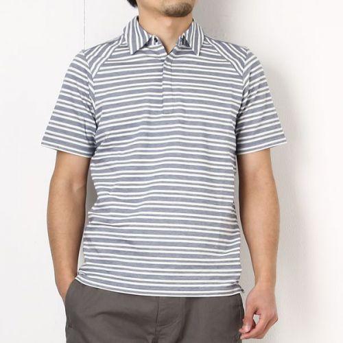 nau(ナウ) ストライプポロ【nau PK Stripe Polo】